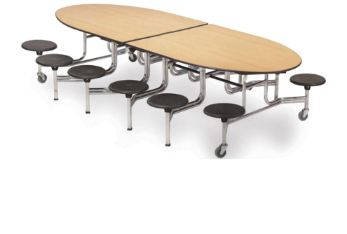 Tisch-Sitz-Kombinationen (verfahrbar)