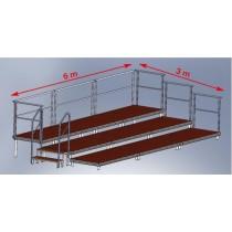 Stage platforms Set 4 - indoor (9 Stage platforms)