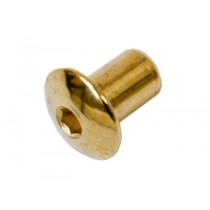 Sleeve nut for wooden facing