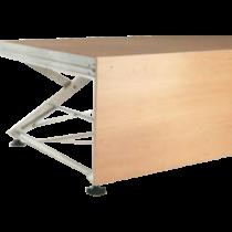 Holzblende für Bühnenelemente