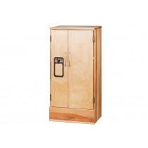 Holz-Kühlschrank