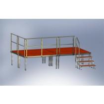 Stage platforms Set 1 - outdoor (4 Stage platforms)