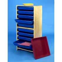 Materialschrank - Papierfächer 10