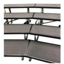 Choral Risers ALLROUND-Professional 4-steps SET (2 pcs)
