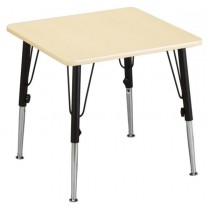 Square Table Kids (adjustable in height)