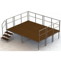 Stage platforms Set 2 (6 stage platforms)
