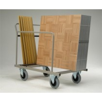 Transport trolley for dancefloors