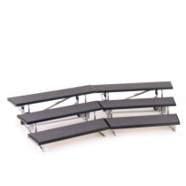 straight, professional, choir risers, allround, choir