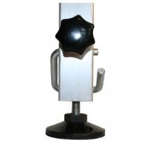 Teleskop-Steckfüße in 2,5-cm-Schritten höhenverstellbar