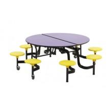 Tisch-Sitz-Kombination ALLROUND Rolli Round